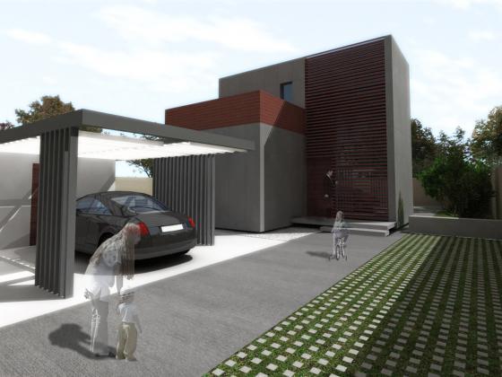 Proyecto de vivienda unifamiliar industrializada en L´Eliana (Valencia)