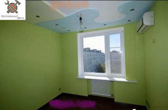 Habitacion Completa: Pladur , Parquet, Pintura, Colocacion de vental de aluminio mas cableado electrico