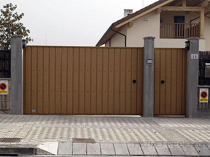 puertas metalicas motorizadas