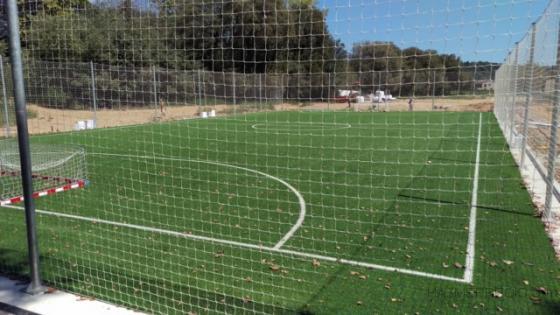 Pista Futbol sala Complejo deportivo.