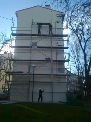 Rehabilitacion fachada monocapa