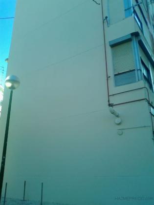Rehabilitación fachada monocapa