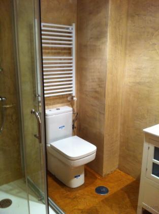 Microcemento en paredes y suelo