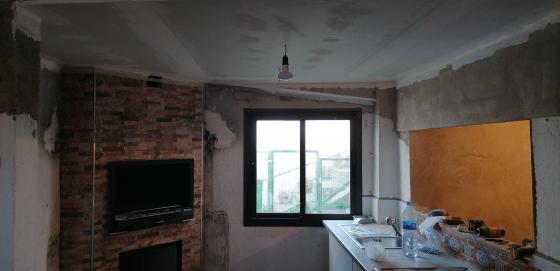 Instalación techo pladur