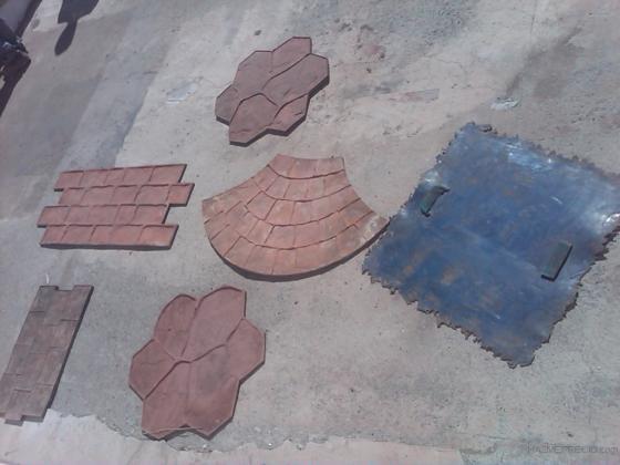 moldes para suelos y morteros