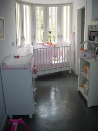 Dormitorio infantil microcemento