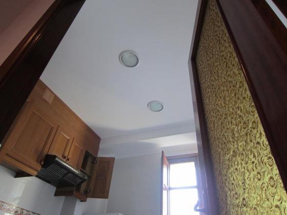 colocacion luminaria en la cocina