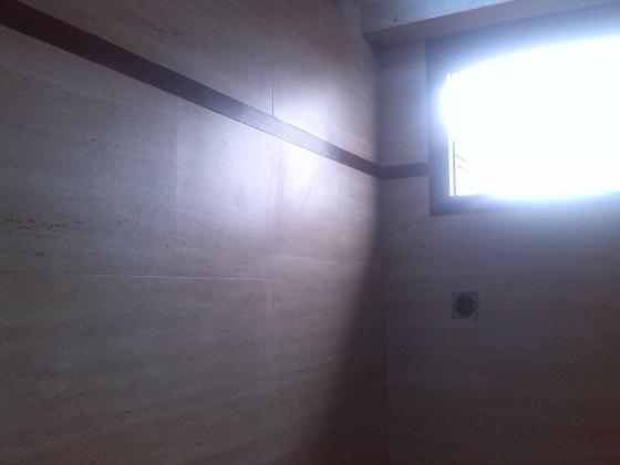 Alicatado y solado en baño-material vinilico-pvc