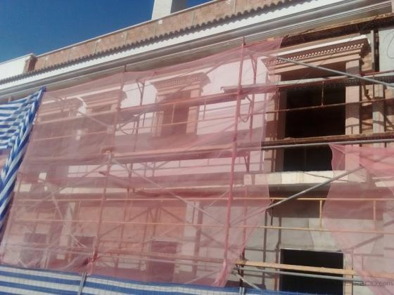 construcción de vivienda en Benameji