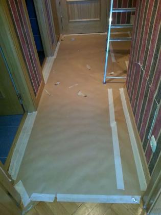 pintura de un piso