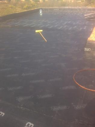 tela asfaltica,primera capa