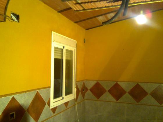 Alicatado, enlucido, pintado, sustitución de ventanas,  etc...