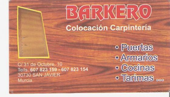 BARKERO COLOCACION CARPINTERIA.