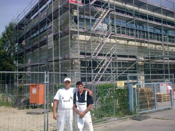 reabilitacion de fachada con sistema poroterhm (lana de roca)