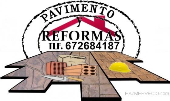 Pavimento y Reformas
