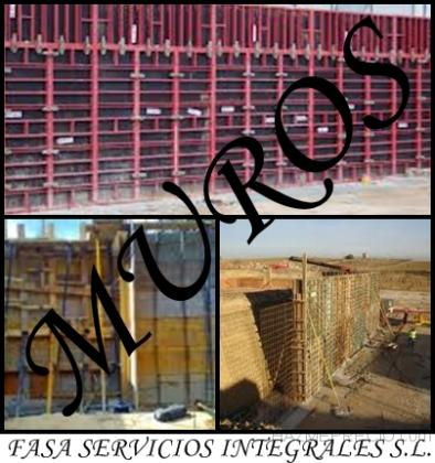 Muros de Hormigón