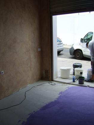 Microcemento violeta