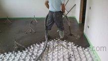 Mortero Autonivelante para suelo radiante en Ermua Bizcaia Feinco SL