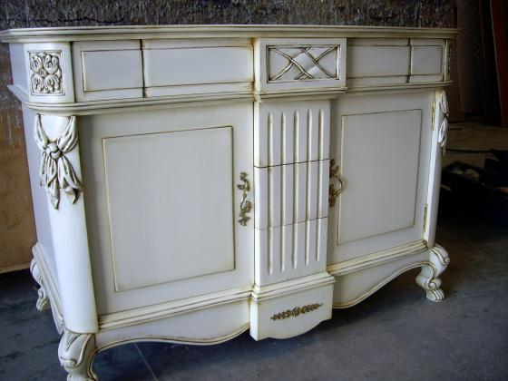 Mueble de baño clásico