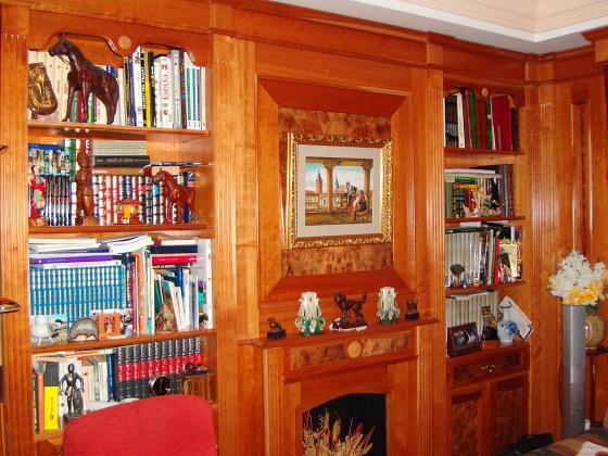 Boisserie y Muebles Clásicos de salón