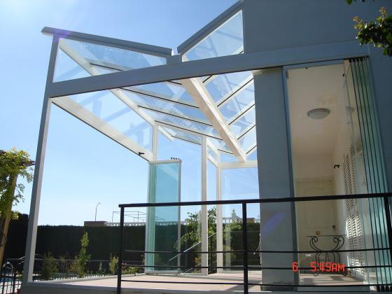 Mupalum s l l 28946 fuenlabrada madrid - Techos de vidrio para terrazas ...