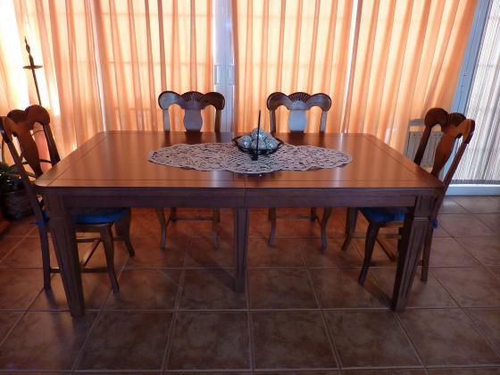 Mesa de madera a medida
