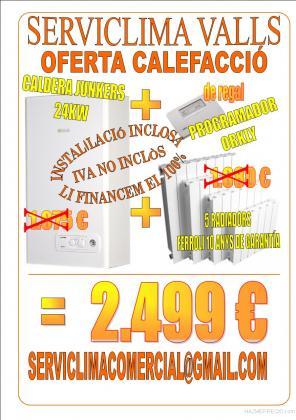 oferta calefaccion