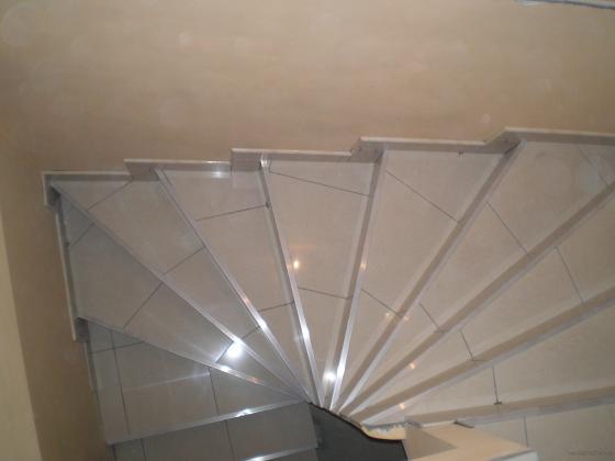 Escalera de obra 2011