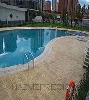 piscina con hormigon impreso