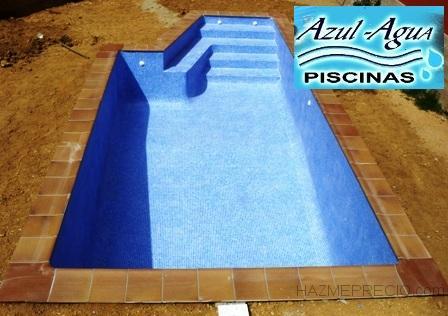 Piscinas azul agua 17404 riells i viabrea girona for Precio construccion piscina de obra