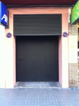 Carpinteria metalica poli 46017 valencia valencia for Puerta garaje metalica