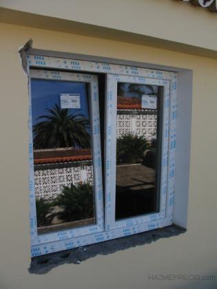 Suministro e instalación de ventanas de PVC
