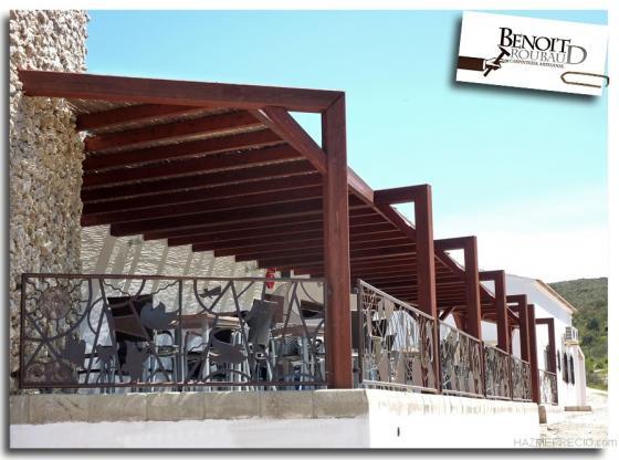 Benoit roubaud 04007 almer a almeria - Pergola terraza atico ...