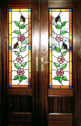 Vidrieras vitralia 28260 galapagar madrid - Vidrieras para puertas ...