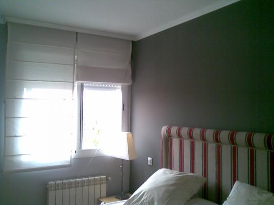 Alisado con maestra pintado de grises