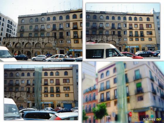 Rehabilitación y pintura en fachada de Luis Montoto