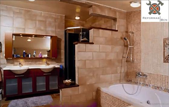 Baño reformado por completo