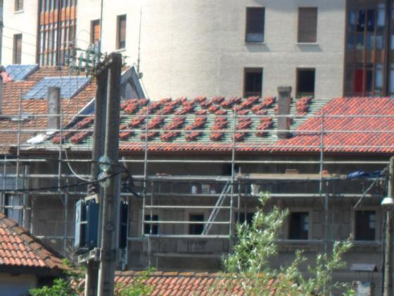 rehabilitacion de tejado en gueñes