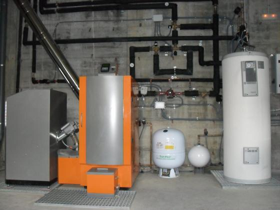 Ostargi energias alternativas s l 48196 lezama vizcaya - Caldera calefaccion pellets ...