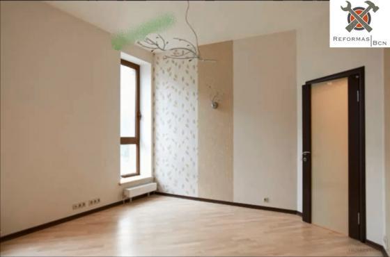 Habitacion : Parquet y colocacion de puerta