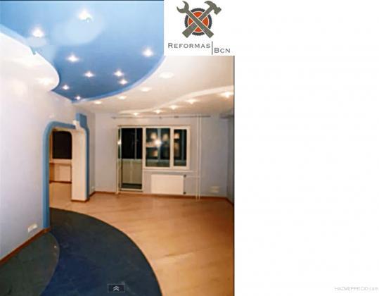 Salon: Parquet , Pintura, Pladur, mas electricidad de todo el salon mucha iluminacion!