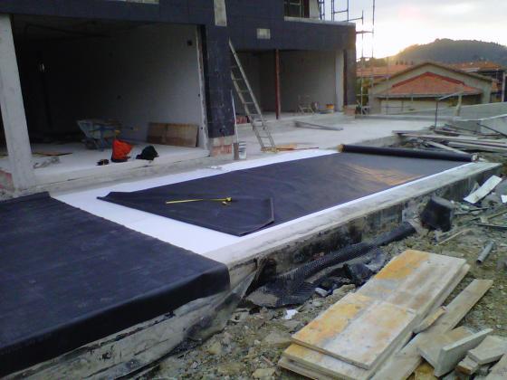 Impermeabilización de terrazas con lámina EPDM en Sopelana Bizcaia FeincoSL