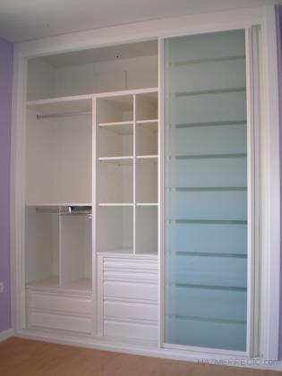 Frentes de armario con diseños actuales.