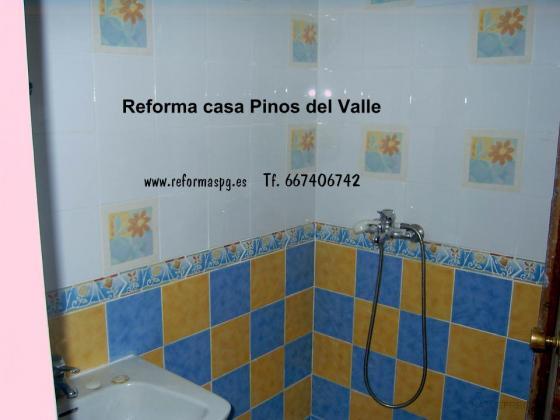 Reforma integral casa rusticas en Pinos del Valle