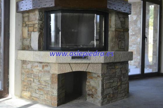 Instalación y revestimiento de chimeneas.