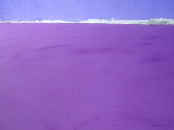 Microcemento violeta, restaurante Dreams, Puerto del Carmen, Lanzarote