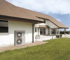 Instalación de climatización VRV + Biomasa