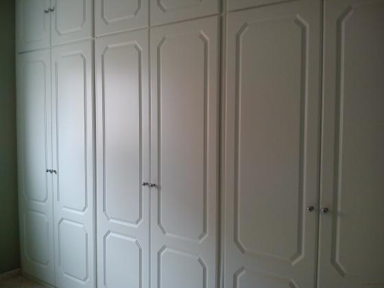 frente armario abatible lacado blanco