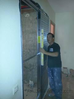 Reformas villaitodo 08042 barcelona barcelona for Armazon puerta corredera bricomart