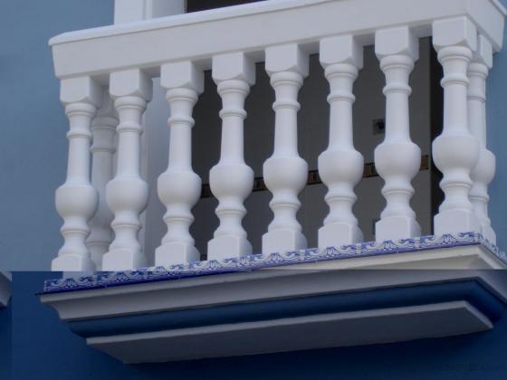 Balcón de balaustrada